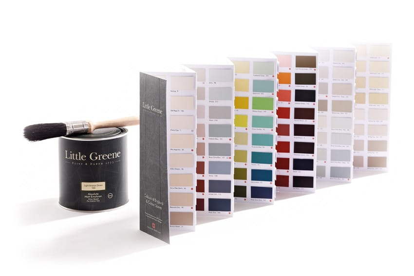 comment appliquer la peinture little greene l 39 atelier des couleurs. Black Bedroom Furniture Sets. Home Design Ideas