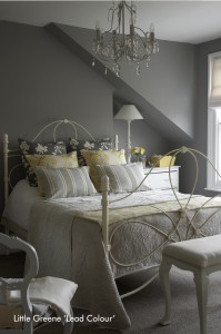 Little-Greene-Bedroom-Lead-Colour-199x300 Les Peintures Little Greene