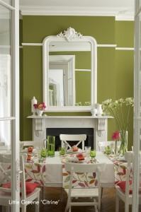 Little-Greene-Dining-Room-Citrine-199x300 Les Peintures Little Greene