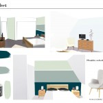 Chambre-Mr-Lanoe-2-150x150 Papier Little Greene Marlborough coordonné avec lesTeintes : Attic, Hoolyhock, Stone Pale Cool