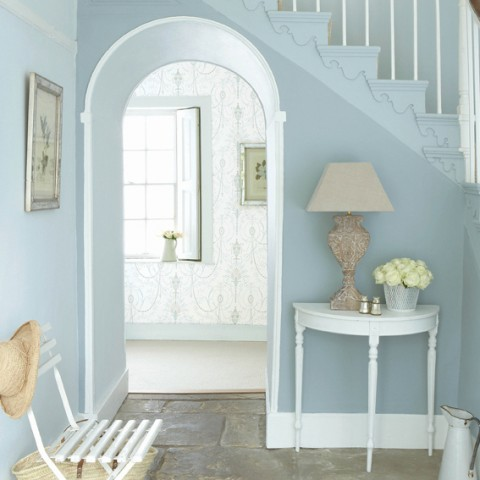 Little Greene Hallway - Bone China Blue