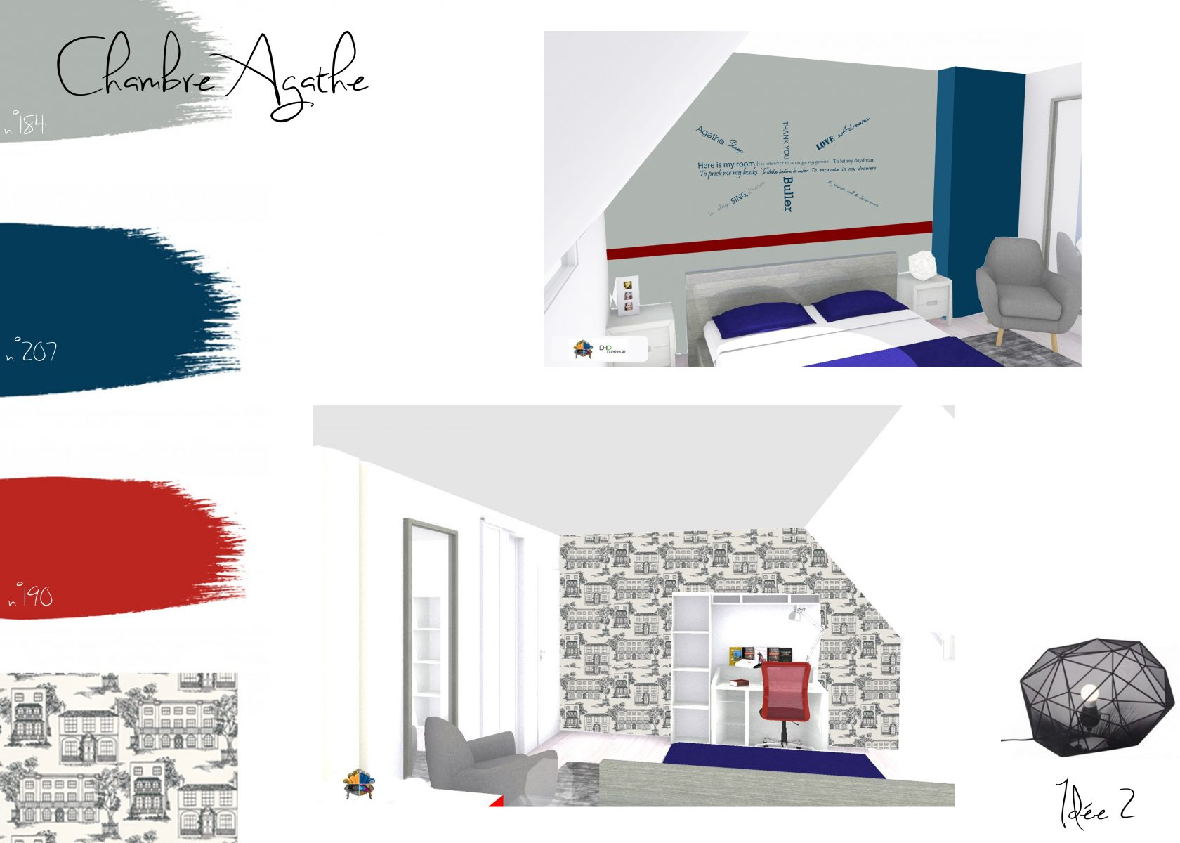 Comment peindre une chambre en 2 couleurs fashion designs for Peindre une piece de 2 couleurs
