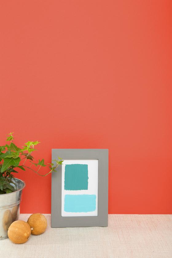 Orange aurora 21 l 39 atelier des couleurs - Little green peinture ...