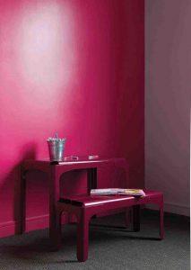 peinture_brillante_couleur_rose_framboise_prestige_premium_de_tollens_rose_sari-213x300 Comment réussir son projet couleur en décoration ?