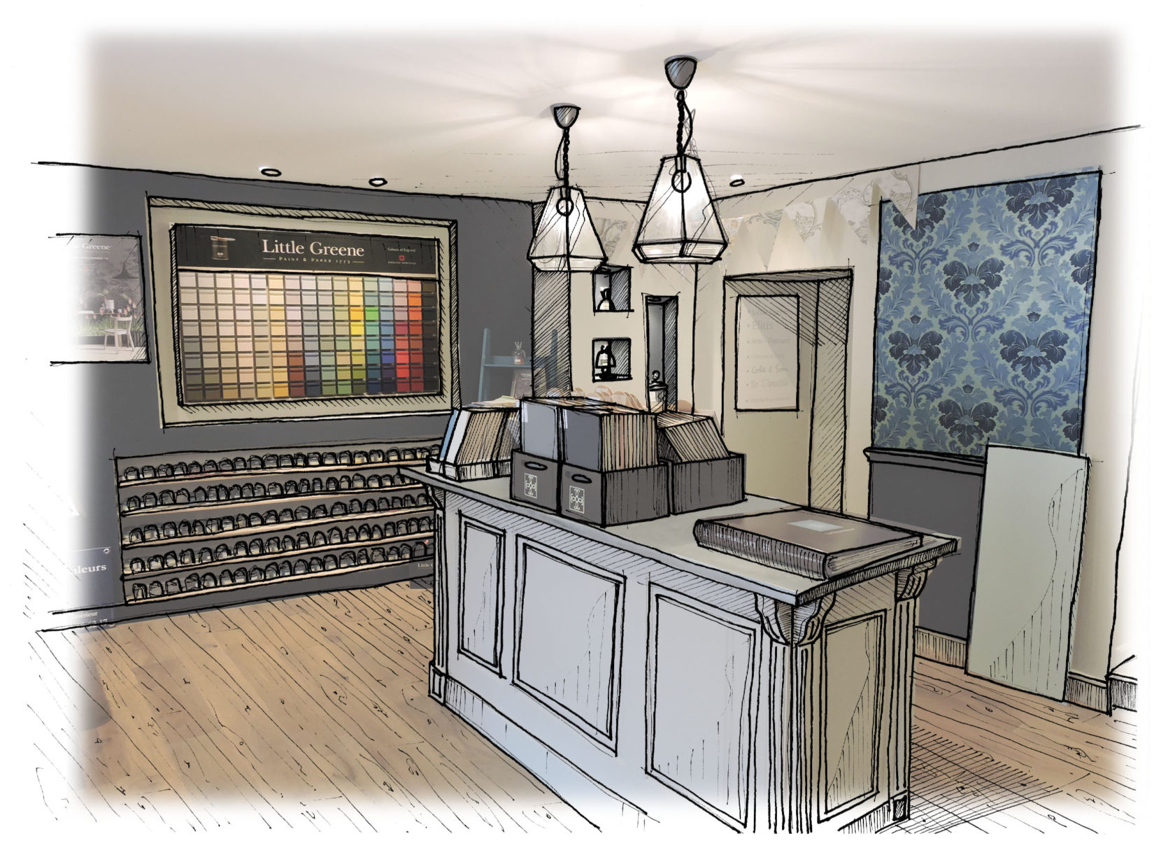 dessin-magasin Accueil