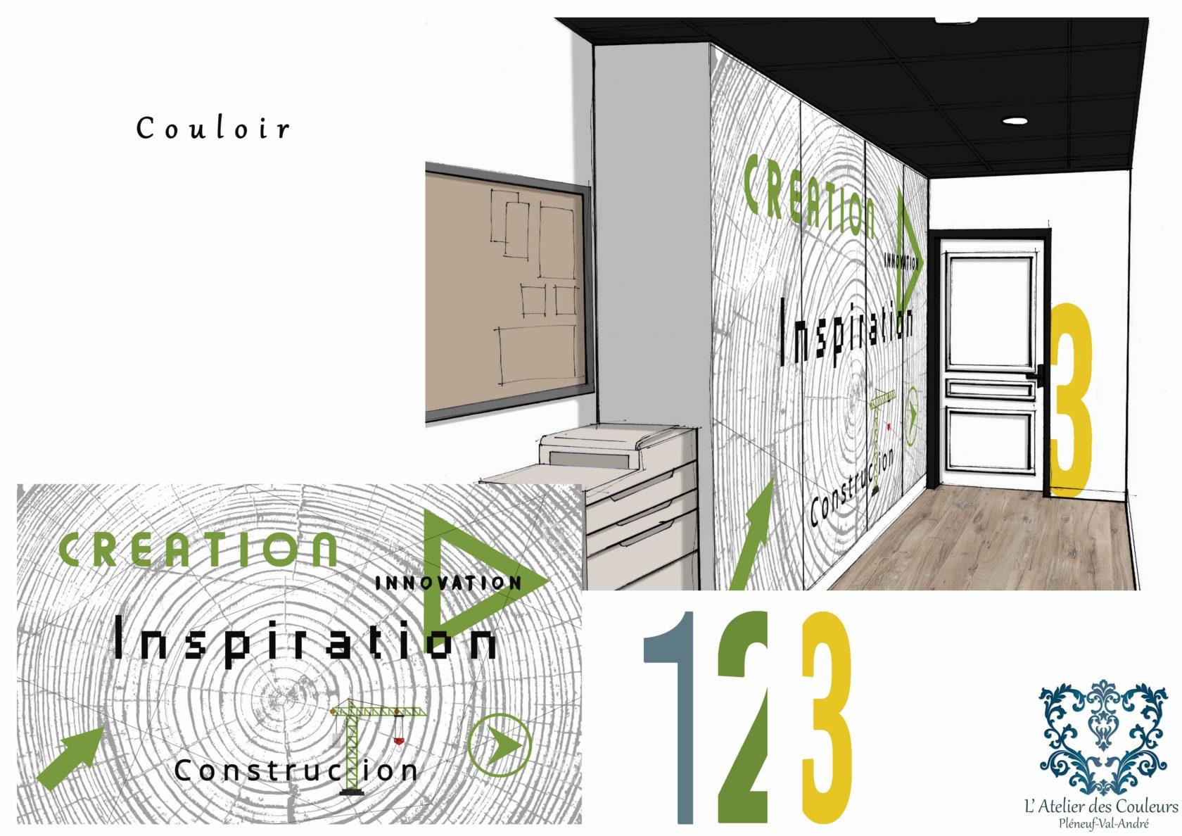planche-3 La décoration d'un Showroom